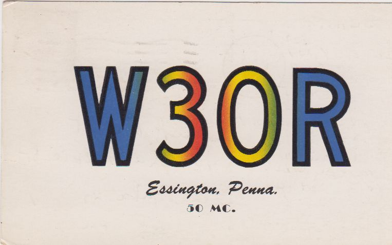 short wave post card